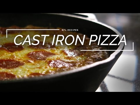 Pizza: How to Make Deep Dish Pizza