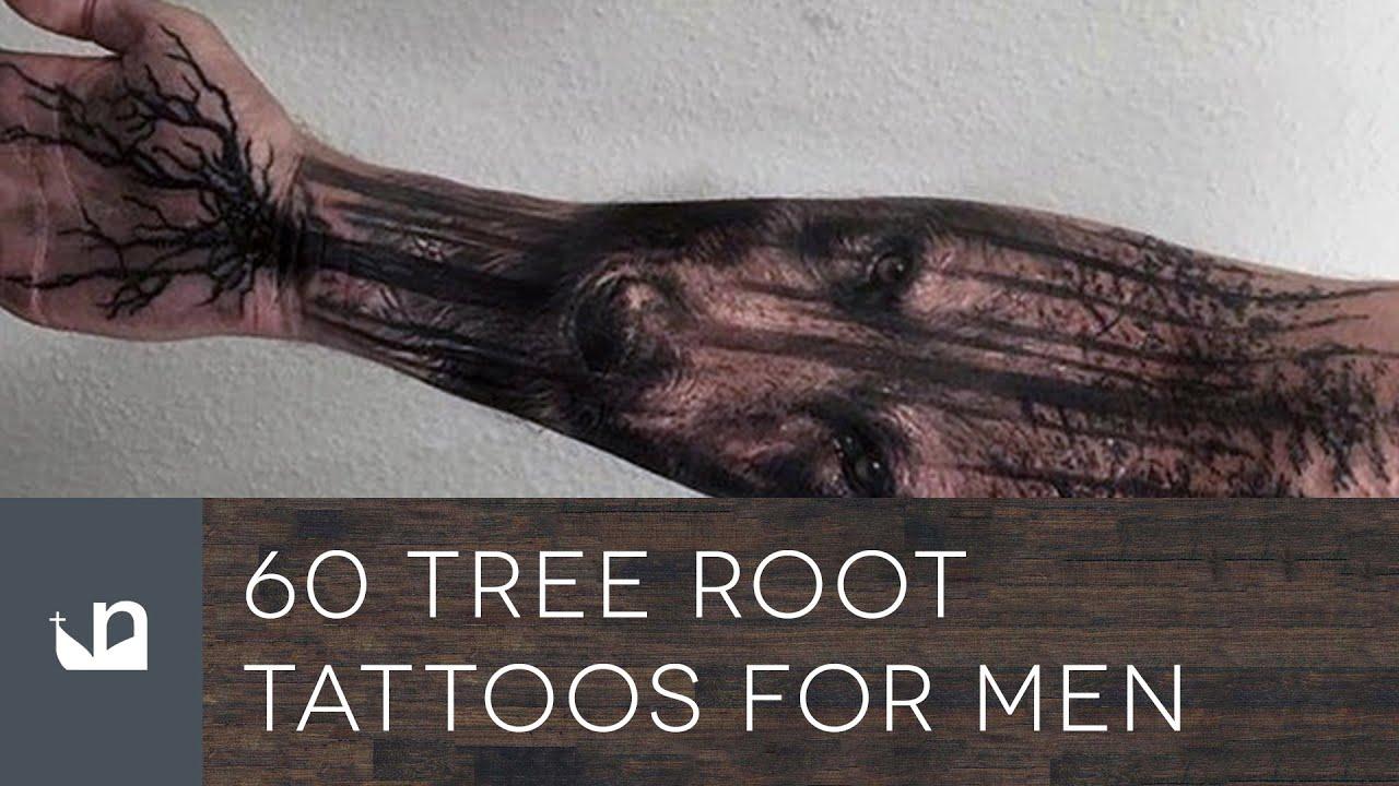 b7044e2e81e6a 60 Tree Root Tattoos For Men - YouTube