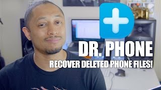 Dr. Phone iPhone recovery software