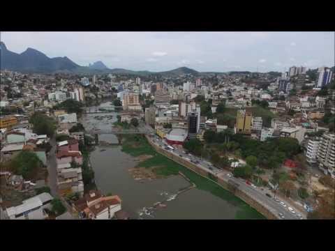 Sobrevoando  Cachoeiro de Itapemirim ES- 12/10/2016