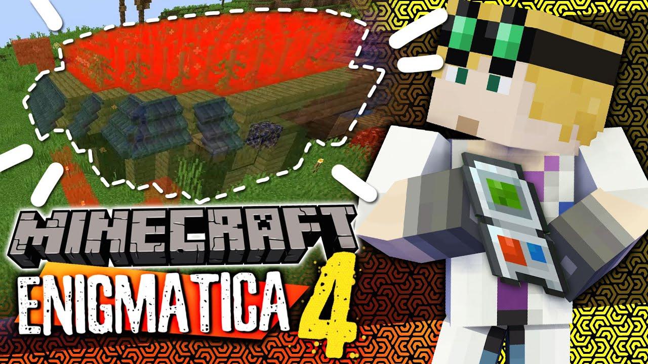 Minecraft Enigmatica 4 - COPY-PASTE GADGET #39 (Minecraft Modded)