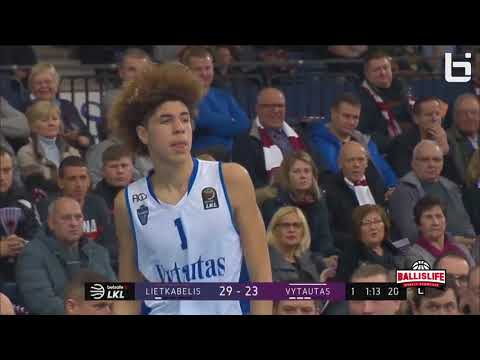 BALL BROTHERS SCORLESS IN LITHUANIA LEAGUE GAME!!! | LAMELO AND LIANGELO BALL FULL HIGHLIGHTS!!!