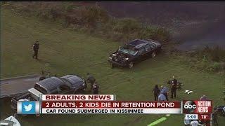 BREAKING: 4 found dead in submerged car