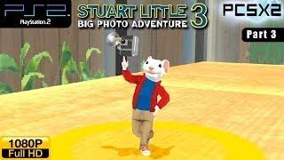 Stuart Little 3: Big Photo Adventure - PS2 Walkthrough - part 3 (Garden)
