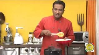 Pappu Charu (mild sambhar) - By VahChef @ VahRehVah.com