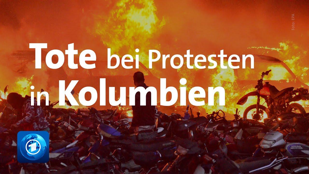 Download Erneut Tote bei regierungskritischen Protesten in Kolumbien
