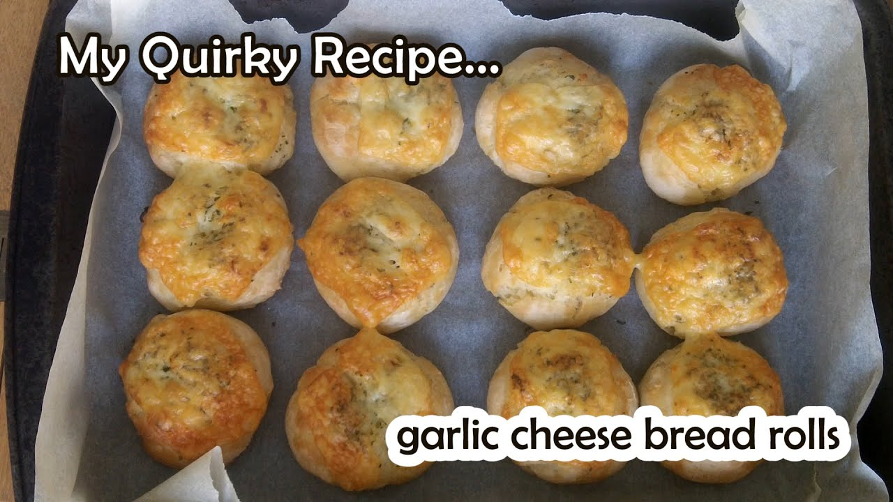 Very Easy Butter Bread Rolls & Garlic Cheese Bread Rolls ...