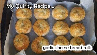 Very Easy Butter Bread Rolls & Garlic Cheese Bread Rolls Recipe