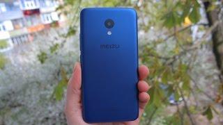 Синий Meizu M5! Божественно красивый! Распаковка!
