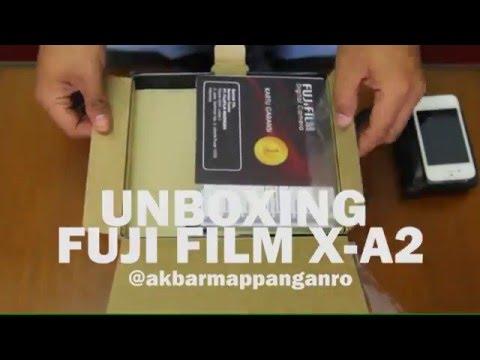 Unboxing Fujifilm X-A2