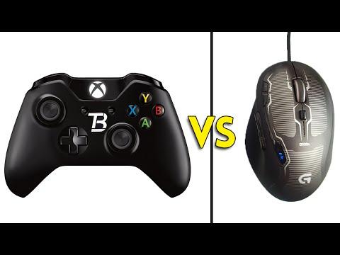 CONTROLLER vs MOUSE