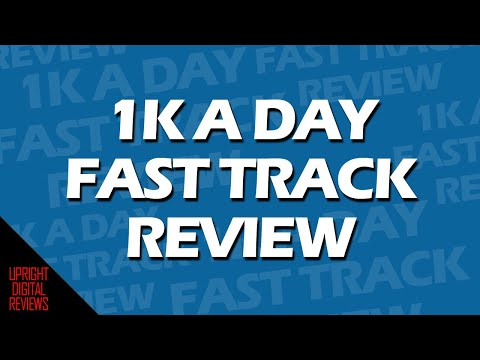 How Much Do  1k A Day Fast Track Cost