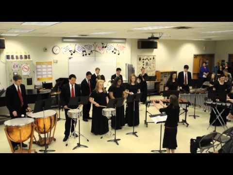 2013.04.05-MACS Music & Arts Festival-Percussion Ensemble performs,