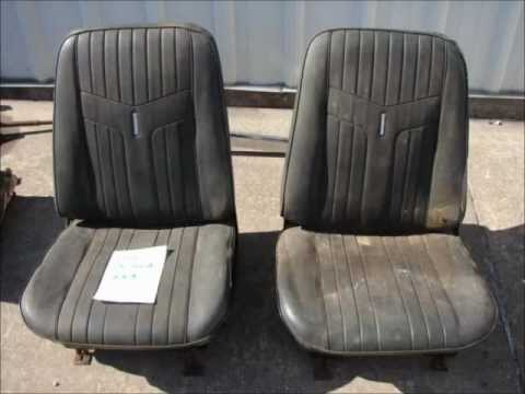 Phillips Muscle Car Parts Bucket Seats Back Seats Bench