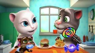 МОЯ ГОВОРЯЩАЯ АНДЖЕЛА #158 Говорящий Том и друзья Мультик про котиков Мульт ИГРА # УШАСТИК KIDS