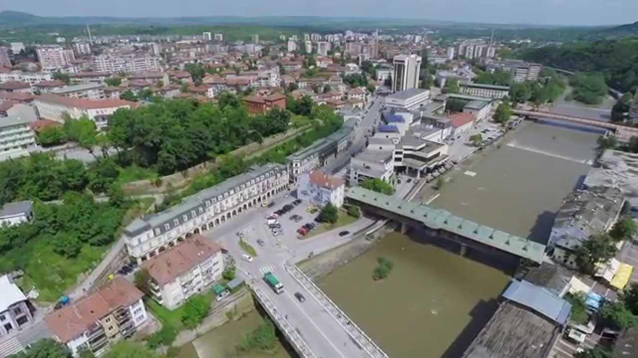 Кратка видео разходка с дрон над град Ловеч! Ето как изглежда от високо!