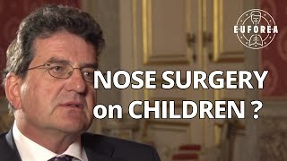 Can nose surgery be performed on children ? (Q&A for patients)