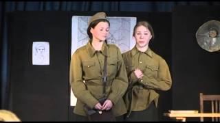 """Театральная студия """"ОСТРОВ"""" - """"Это, девушки, война"""""""