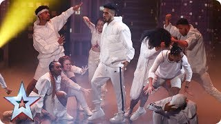 Ready or not! Empire Dance Crew storm the BGT stage   Semi-Final 1   Britain's Got Talent 2017