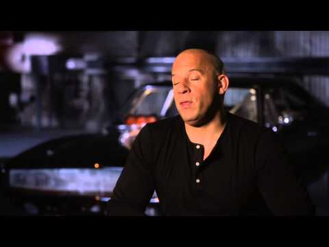"Furious 7: Vin Diesel ""Dominic Torretto"" Behind the Scenes Movie Interview"