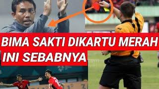 BIMA SAKTI DIUSIR WASIT, TERNYATA INI SEBABNYA;TIMNAS U23 INDONESIA VS UEA;ASIAN GAMES;TERSINGKIR;PE