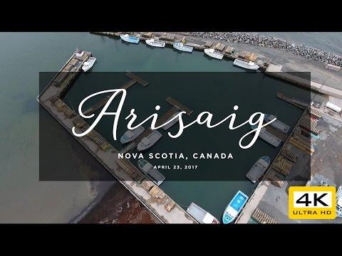 Arisaig, Nova Scotia [4K Drone]