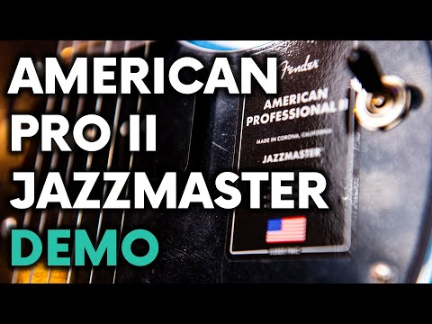 American Professional ii Jazzmaster Review and Demo - Fender - 2020 - Fret Success Gear Review
