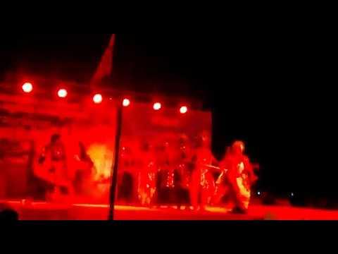 Malpe Navashakthi Vaibhava Performance, Artist Expeirience Unusual Power on thr body