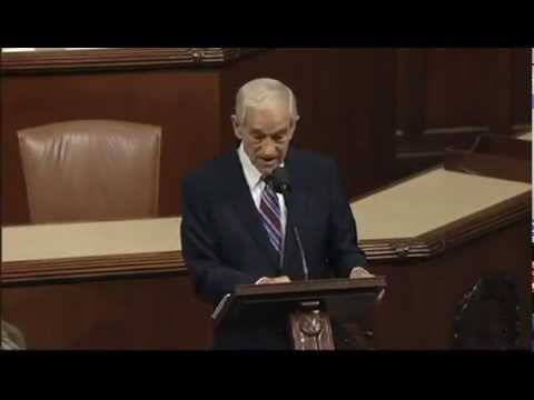 Ron Paul's farewell speech to Congress in 2 minutes - YouTube