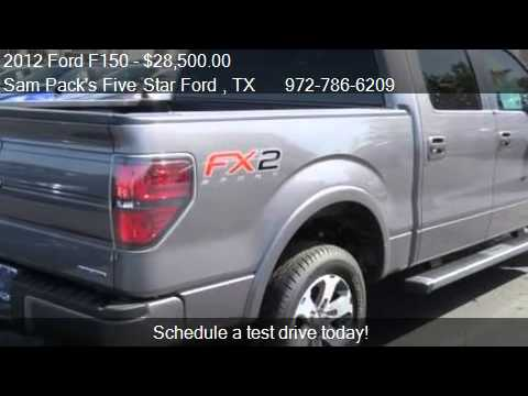 2012 ford f150 fx2 for sale in carrollton tx 75006 youtube. Black Bedroom Furniture Sets. Home Design Ideas