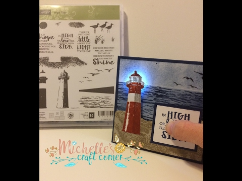 Lighthouse Light-up card