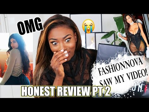 CALLED OUT BY FASHIONNOVA! $800+ DOLLARS WORTH OF CLOTHING H