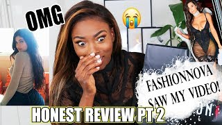 CALLED OUT BY FASHIONNOVA! $800+ DOLLARS WORTH OF CLOTHING HERES MY THOUGHTS ON IT ALL! FULL REVIEW