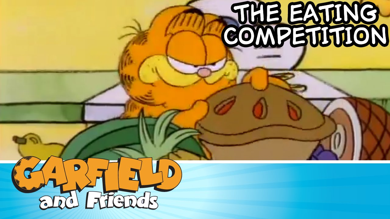 The Eating Competition Garfield Friends Youtube
