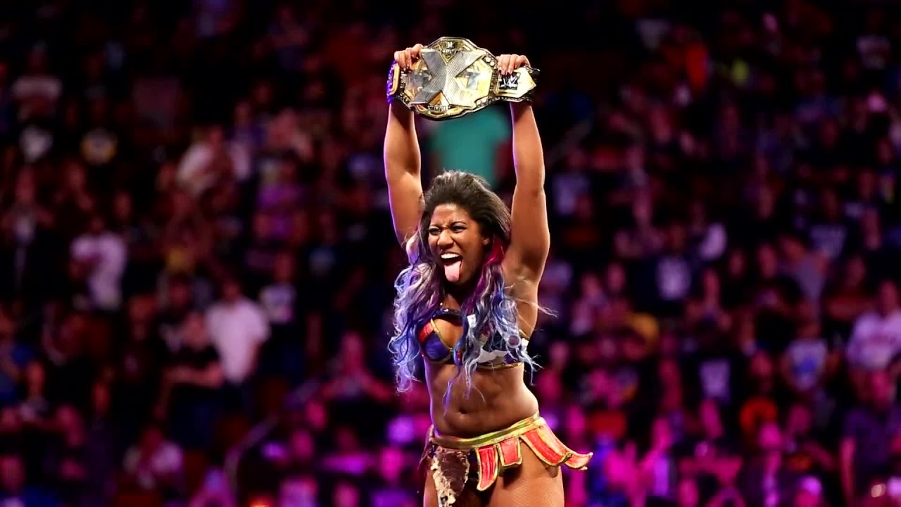 Watch NXT Women's Champion Ember Moon on NXT this Wednesday on USA Network - YouTube