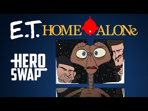 Download Youtube: Home Alone Starring E.T. - Hero Swap