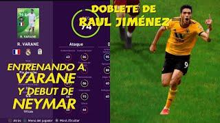 RAUL JIMENEZ SE VISTE DE HEROE AL SUPLIR A NEYMAR MYCLUB # 35 eFootball PES 2020