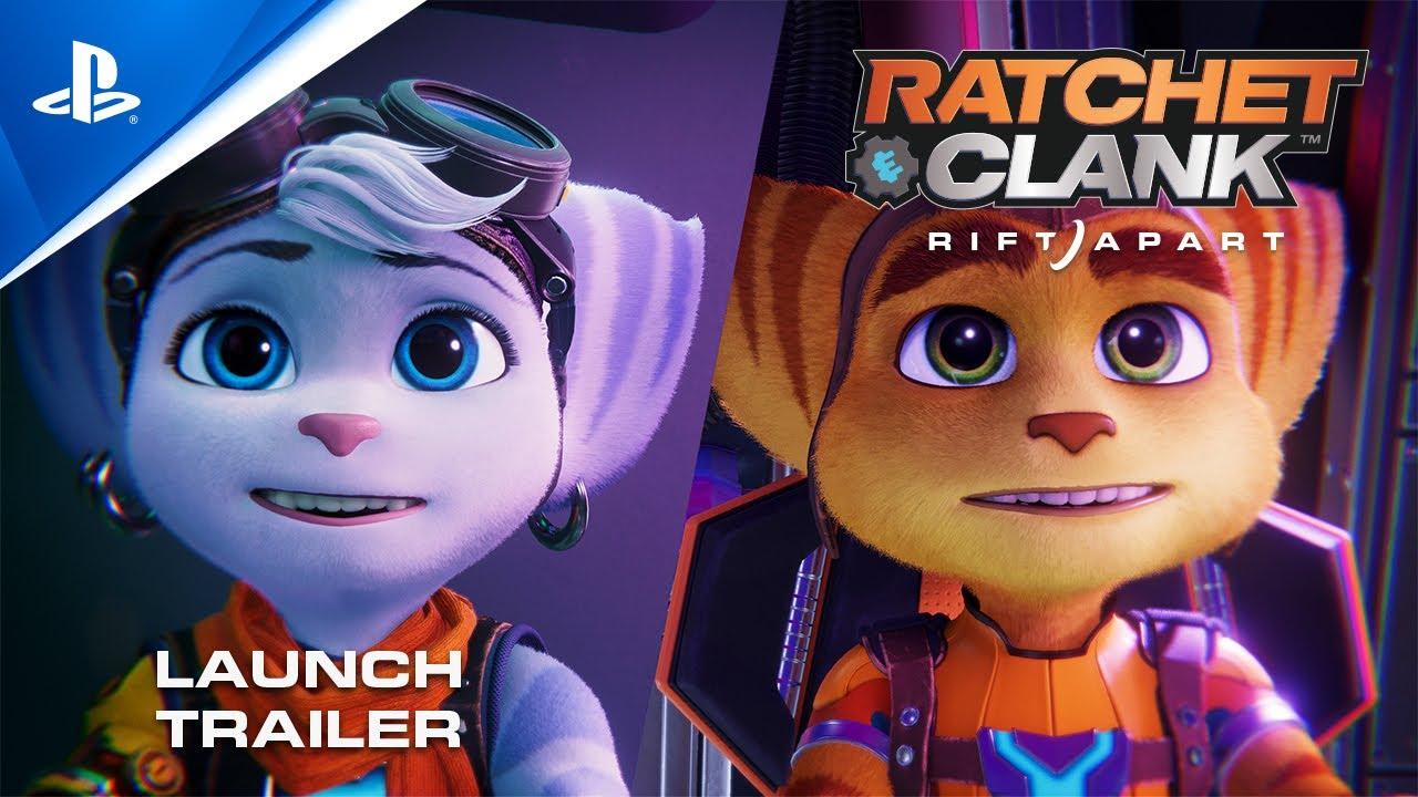 PS5《Ratchet & Clank: Rift Apart》发售预告