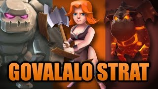 New Govalalo 2017 Strategy | TH9 Valkyrie & Lavaloon | Clash Of Clans