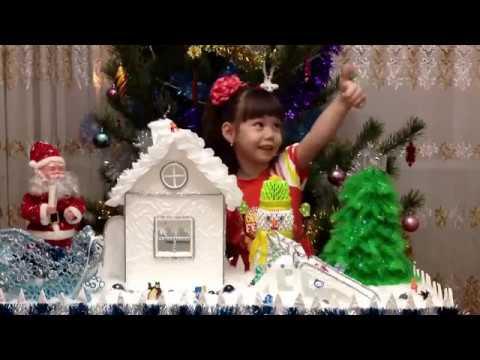 Новогодняя поделка в садик,домик из потолочной плитки, снеговик оригами, сани деда мороза квилинг,