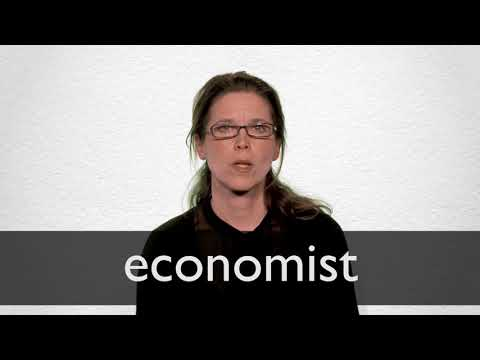 How to pronounce ECONOMIST in British English