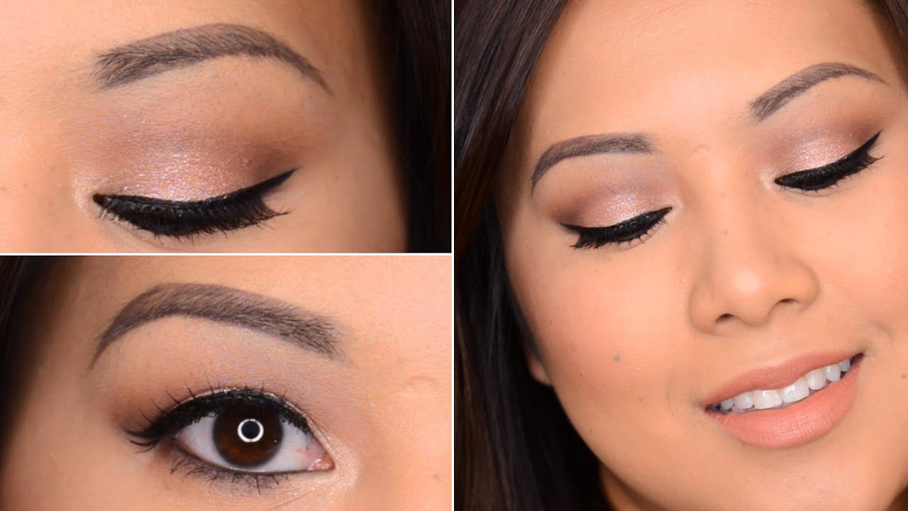 Eye makeup for prom