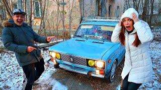 Моя девушка купила автомобиль на аукционе за 100 тысяч рублей, а там...