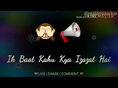 ek baat kahun kya ijazat hai 💗   Arijit Singh   new , love 💗 whatsapp status video  