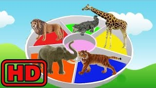 Kid -Kids -Learn Names Of ZOO Animals Fun Way/Learn Colors/Schleich Animal Toys/Learning Fun For Ch
