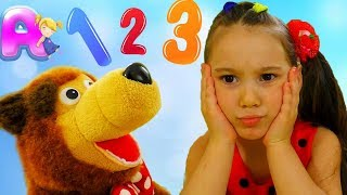 Learn numbers with play & birthday cake video