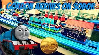 Gordon arrives on Sodor  (story run and Angry Gordon tribute review)