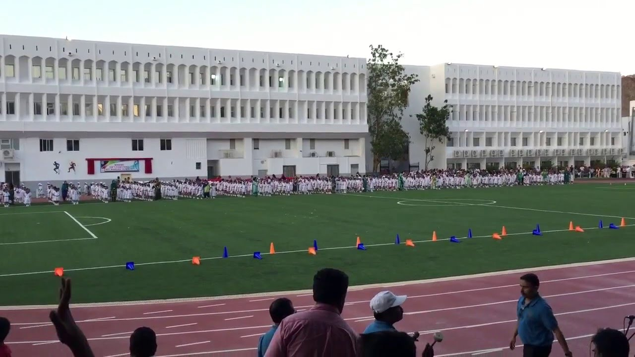 STD 1 & 2 Annual sports day Indian School Muscat - Evening ...