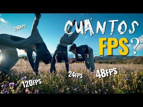 pero a CUÁNTOS FPS GRABO y EDITO?? [24, 25, 30, 60, 120 fps!?]