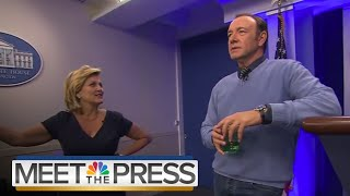 House Of Cards: Behind The Scenes Of The Netflix Drama's New Season | Meet The Press | NBC News